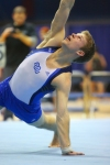 Makowske competes on Floor Exercise at the 2012 Windy City Invitational